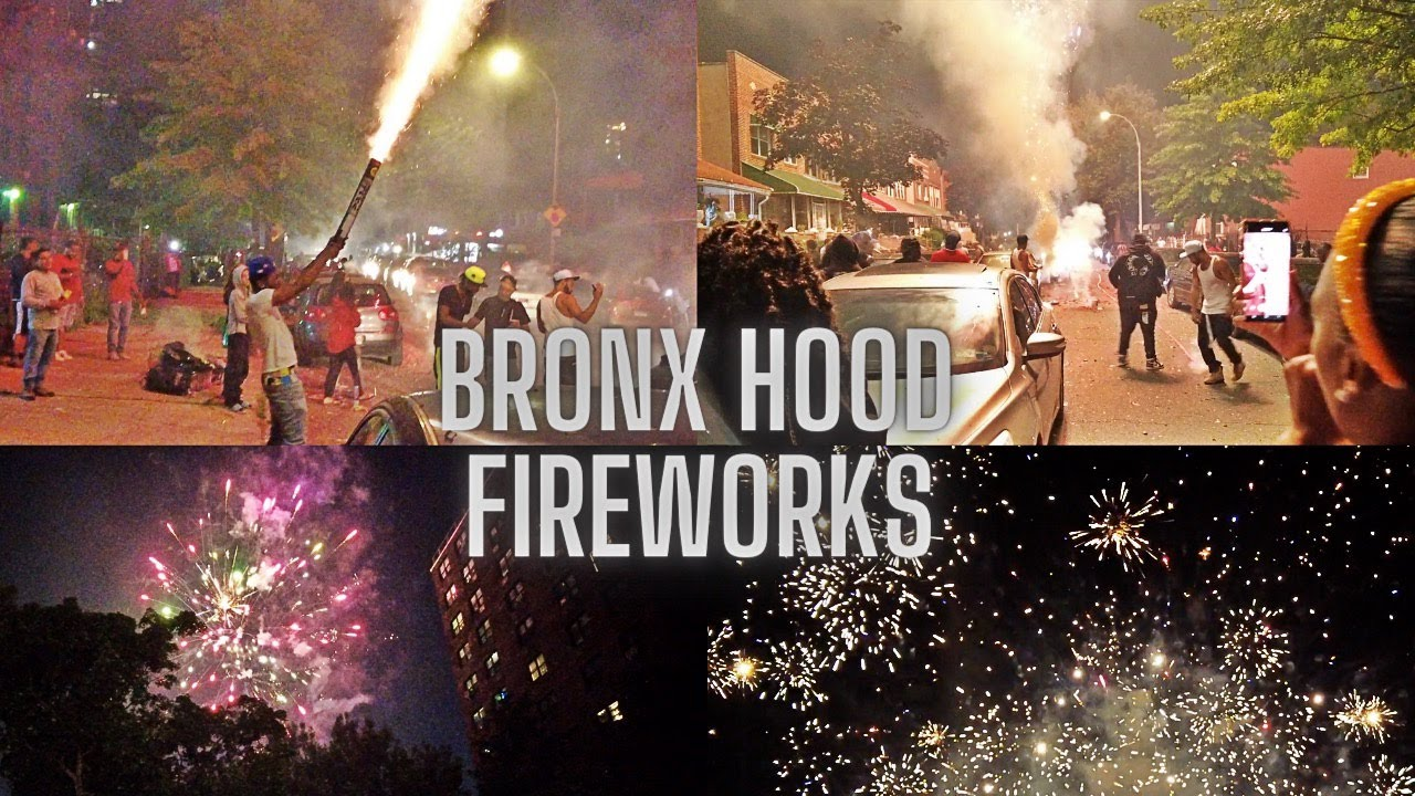 Epic Hood Fireworks | Bronx, NYC | 4th of July 2021