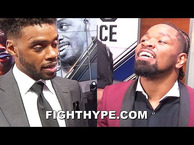 ERROL SPENCE & SHAWN PORTER REUNITE TO SAY WHAT'S UP; CROSS PATHS AFTER PACQUIAO FACE OFF