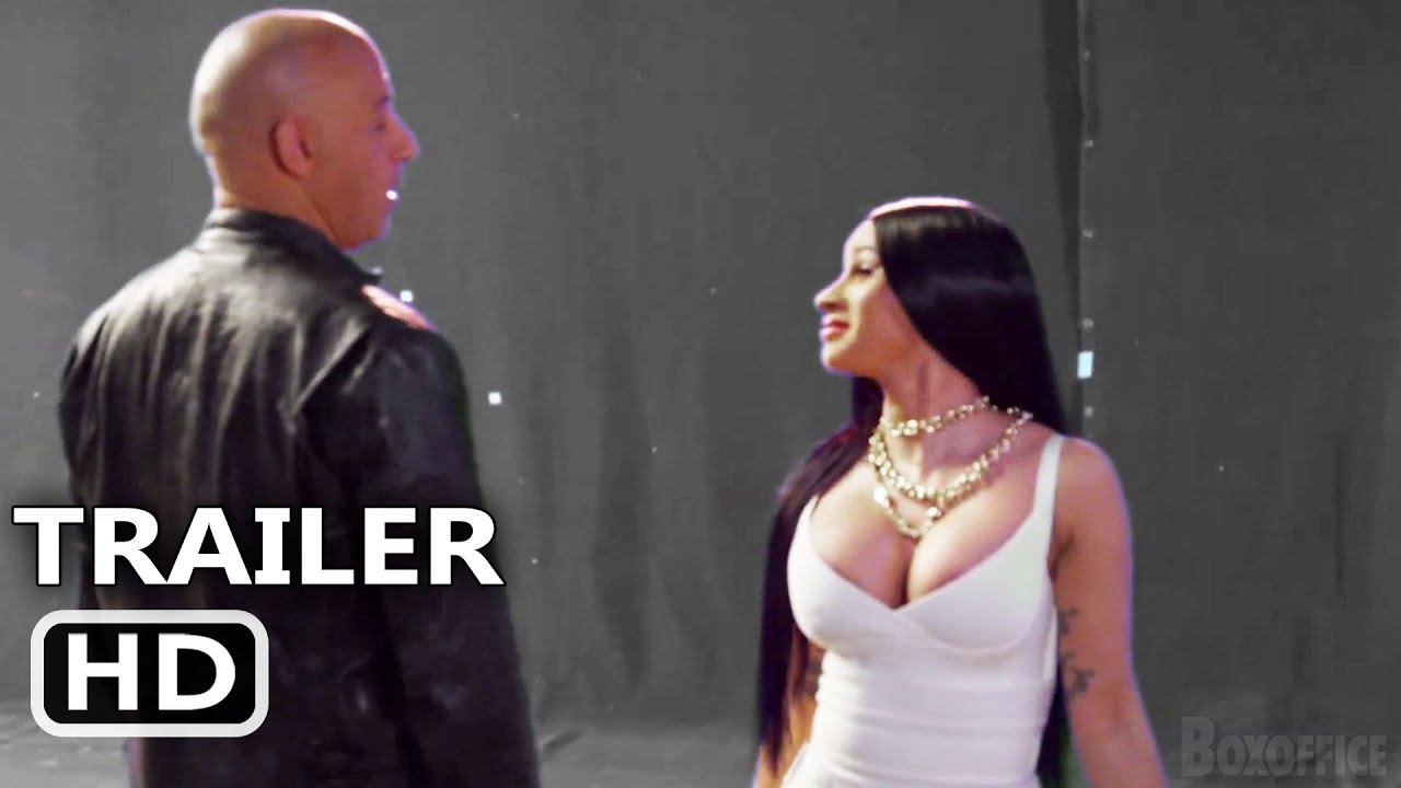 "FAST AND FURIOUS 9 ""Cardi B Meets Vin Diesel"" Trailer (2021)"