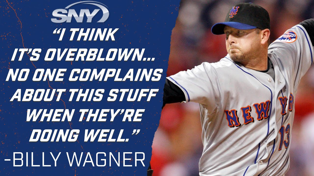 Former Mets pitcher Billy Wagner gives opinion on MLB's sticky substance crackdown | Mets | SNY