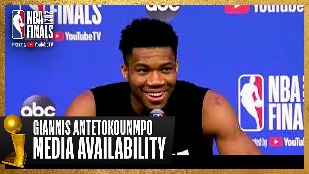 Giannis Antetokounmpo #NBAFinals Media Availability | July 19th, 2021