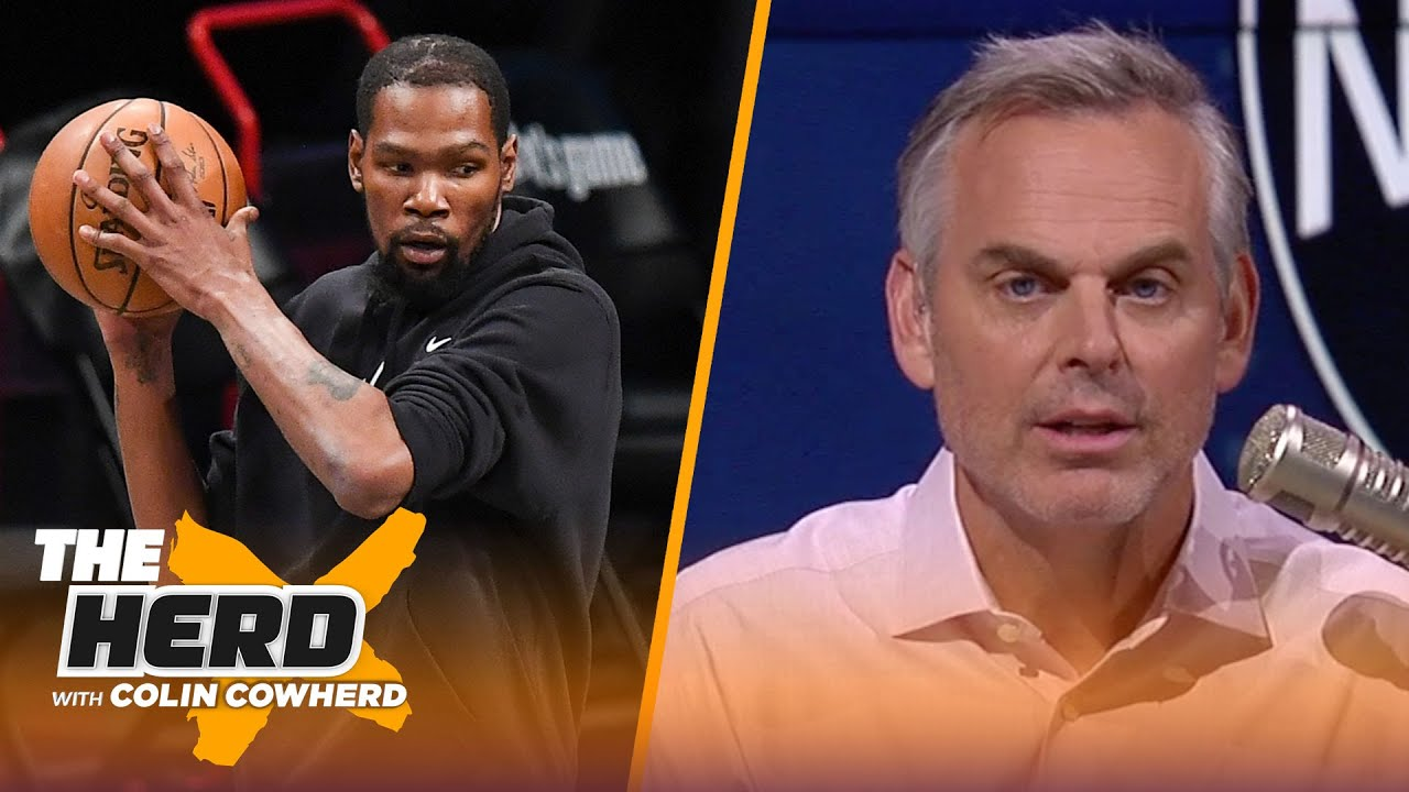 Is Kevin Durant the next face of the NBA? Colin Cowherd decides   NBA   THE HERD