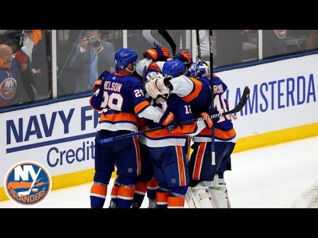 Isles Hold Off Lightning In Wild Game 4 Win | New York Islanders