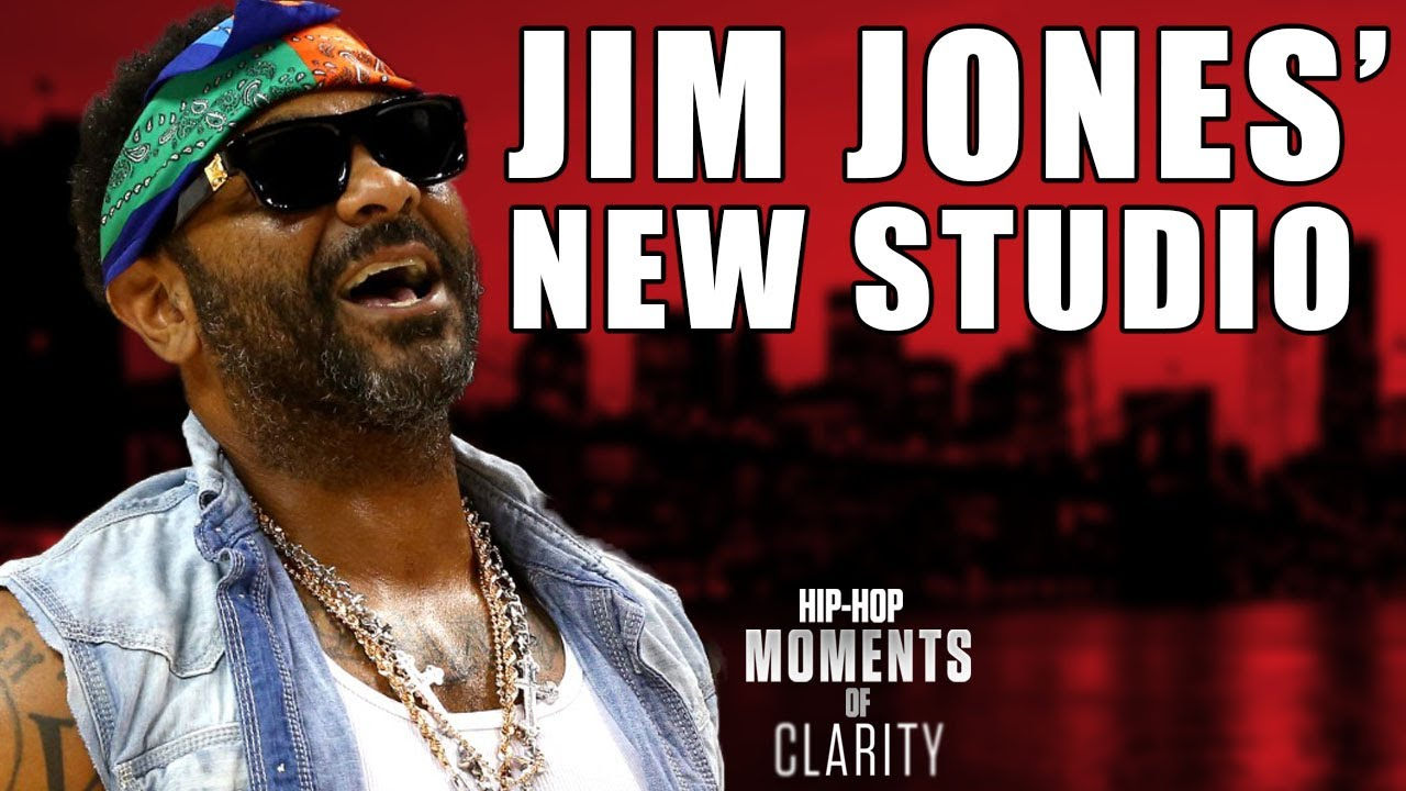 Jim Jones Launches Quarantine Studios, Shares Views on Anxiety & More | Hip-Hop Moments of Clarity