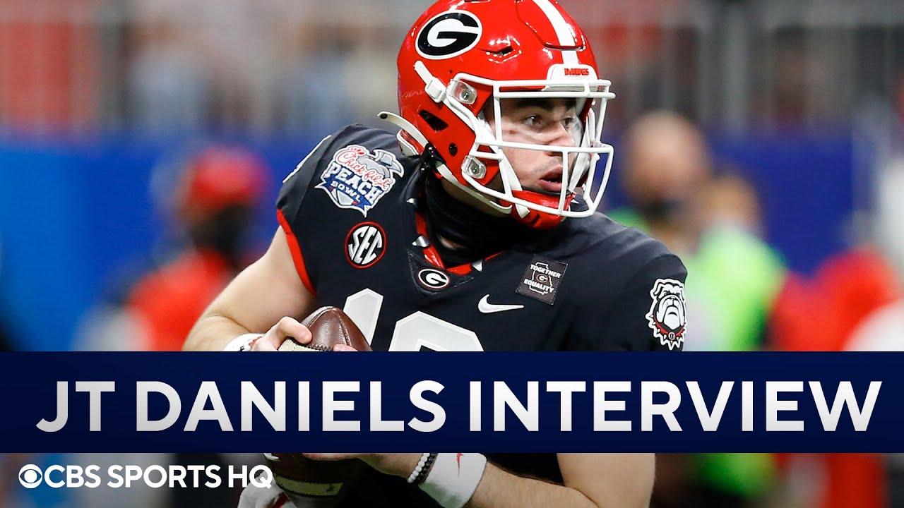 JT Daniels on Georgia's Schedule, Offensive Improvement, & MORE   CBS Sports HQ
