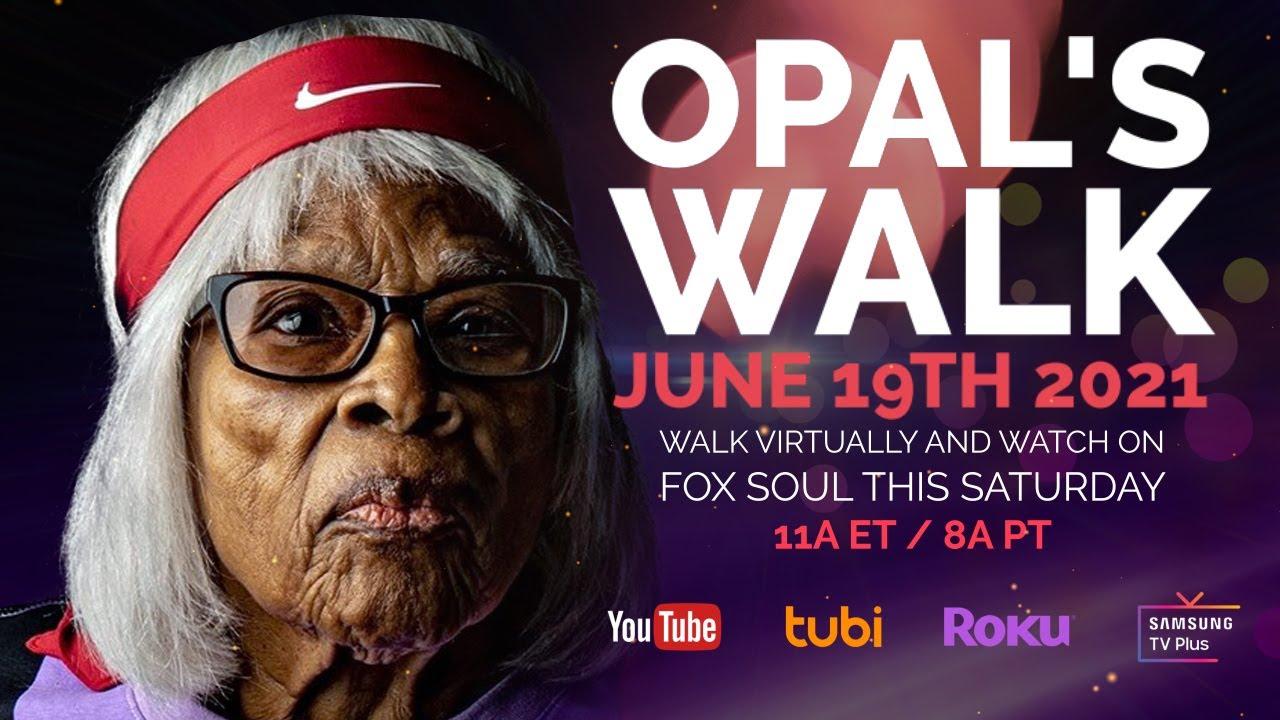 Juneteenth: Walk with Ms. Opal Lee & FOX SOUL