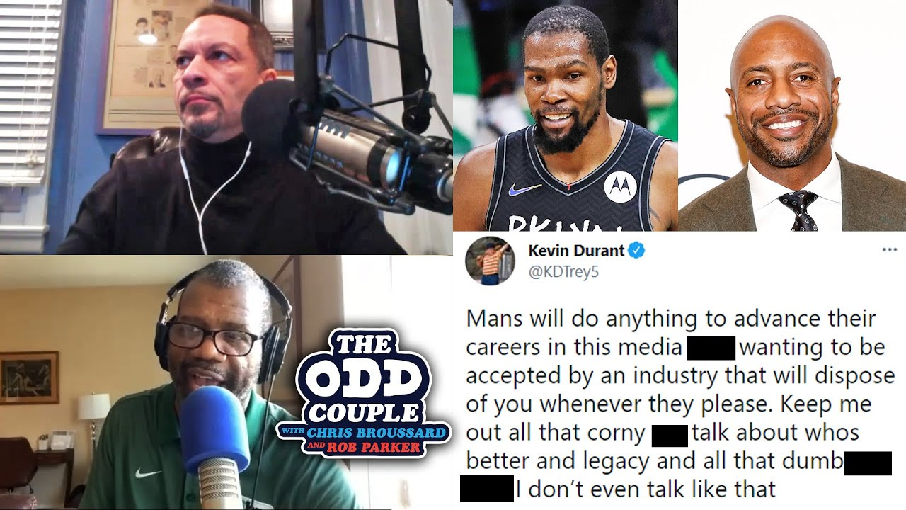 Kevin Durant Blasts Jay Williams' Comments Saying Durant Ripped Giannis Comparisons | THE ODD COUPLE