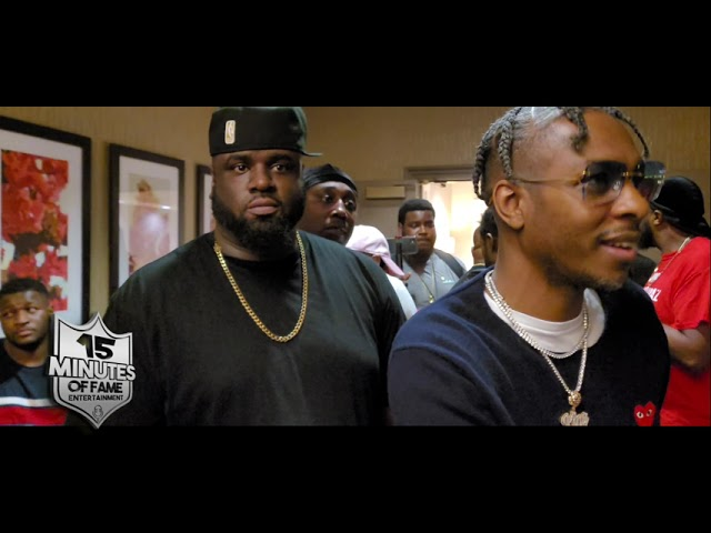 KING LOS ARRIVES TO MAX OUT 2 FACEOFF AND TALKS DAYLYT  BATTLE