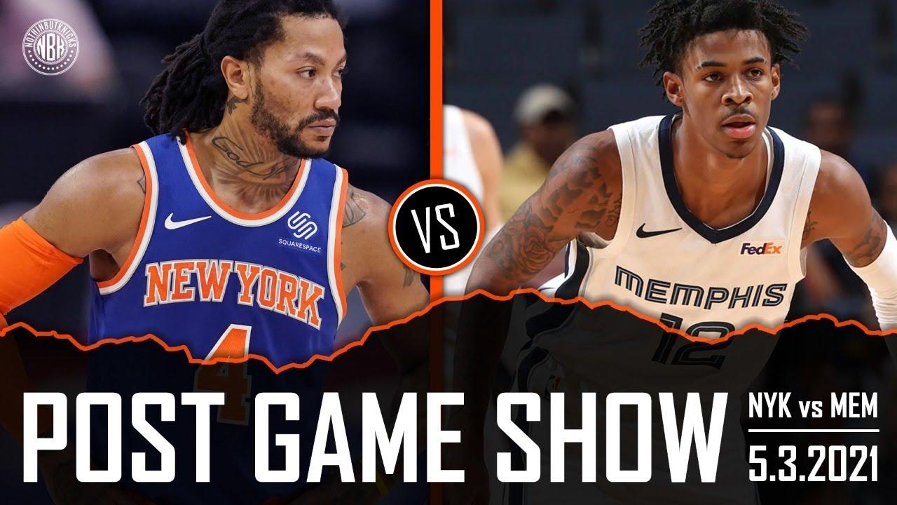 Knicks have winning record! New York Knicks vs Memphis Grizzlies Post Game Show | 5.3.21