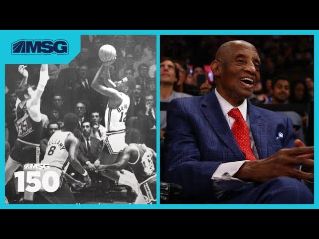 Knicks Legend, Dr. Dick Barnett, Reminisces NBA Career | MSG 150