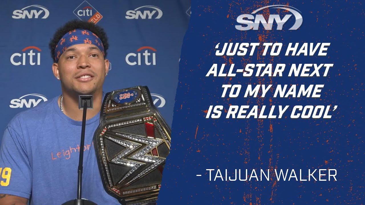 Mets pitcher Taijuan Walker talks about being named to NL All-Star team | Mets Post Game