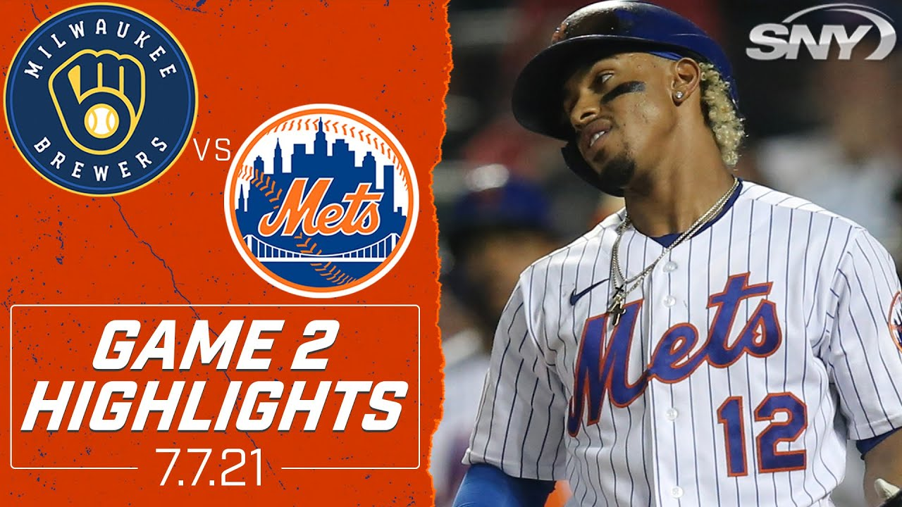 Mets vs Brewers Highlights: Tough 6th inning results in 5-0 shutout as Mets split doubleheader | SNY