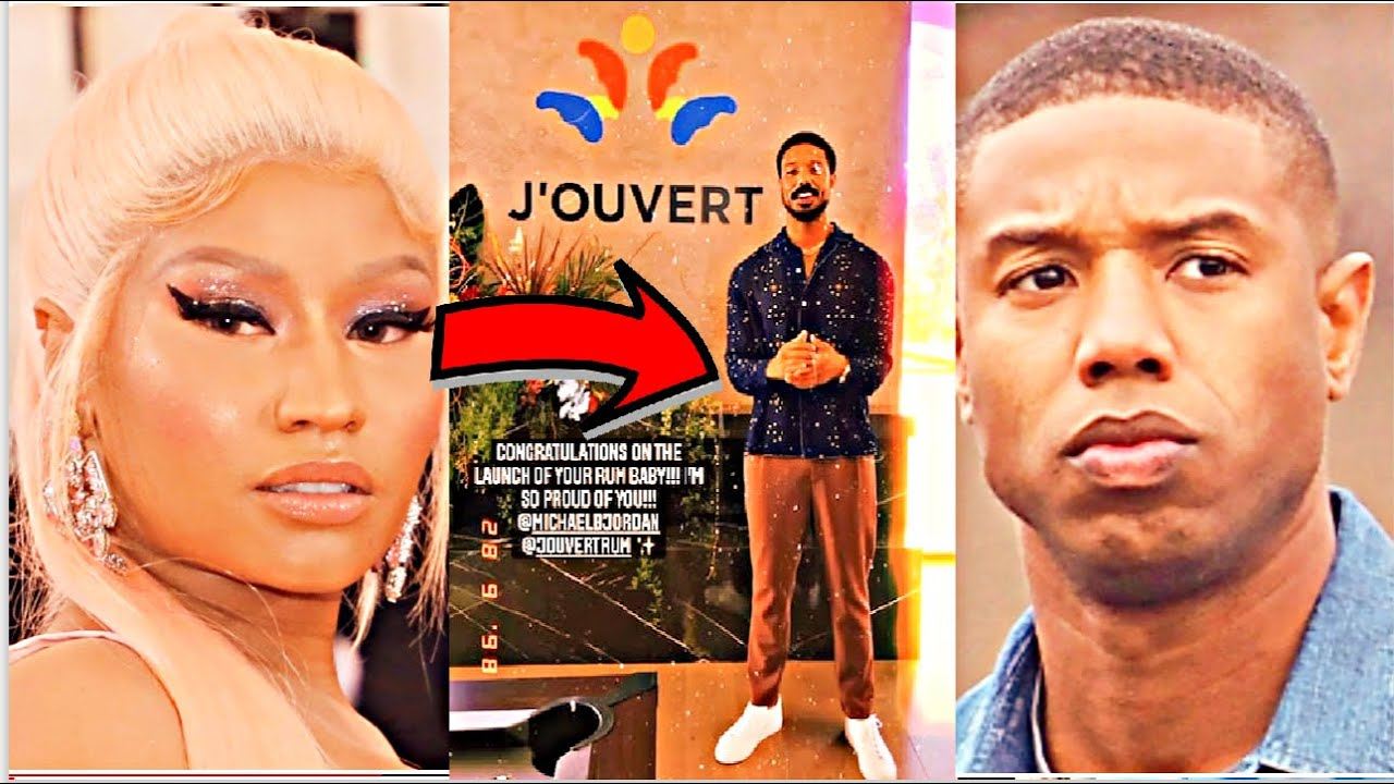 Michael B Jordan Get Grilled by Nicki Minaj Over J'Ouvert Cultural Appropriation…GUESS WHO'S MAD?