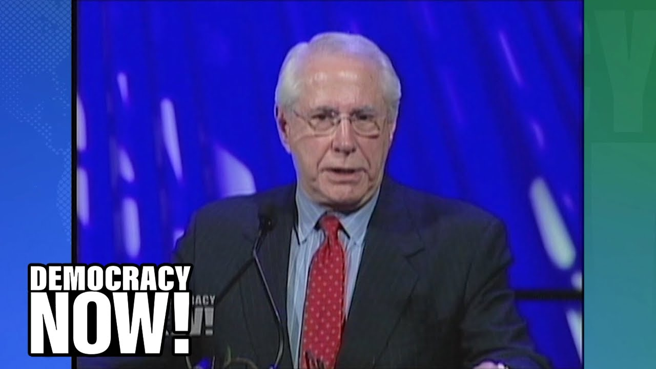 Mike Gravel RIP: Watch the Senator's Stunning 2007 Speech on How He Made the Pentagon Papers Public