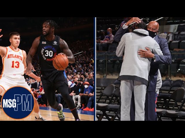 Mike Woodson Reacts To Knicks Game 2 Win vs. Hawks   MSG PM