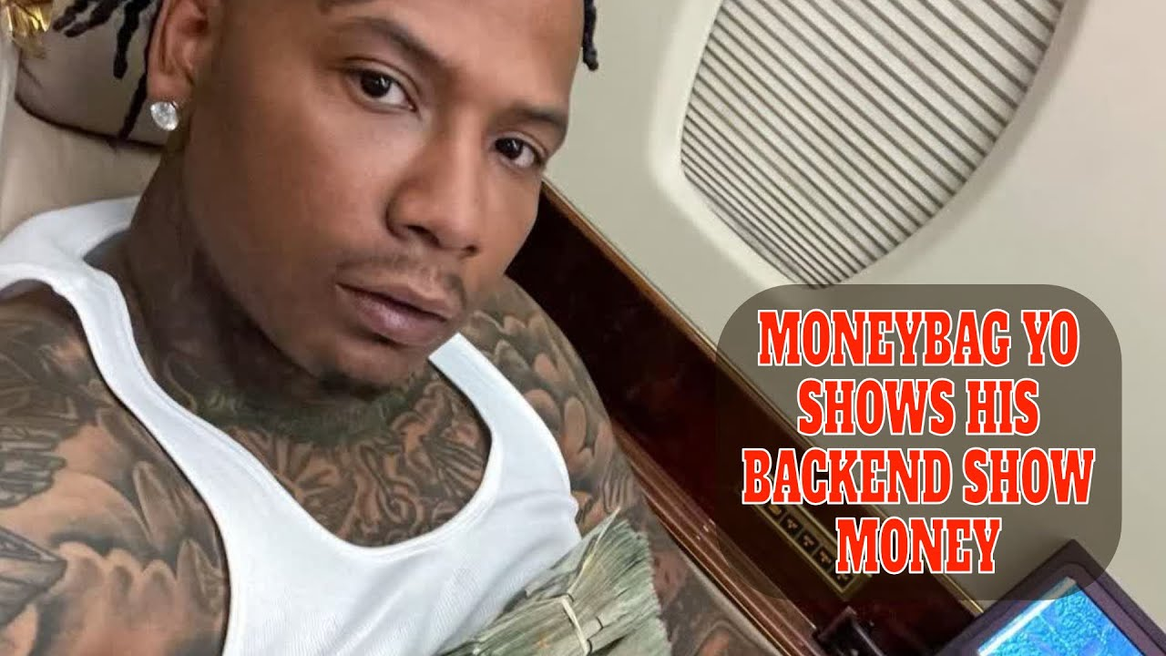 MONEYBAG YO SHOWS THE MONEY HE MAKES FROM HIS SHOWS AFTER BEING NUMBER 1 IN THE COUNTRY