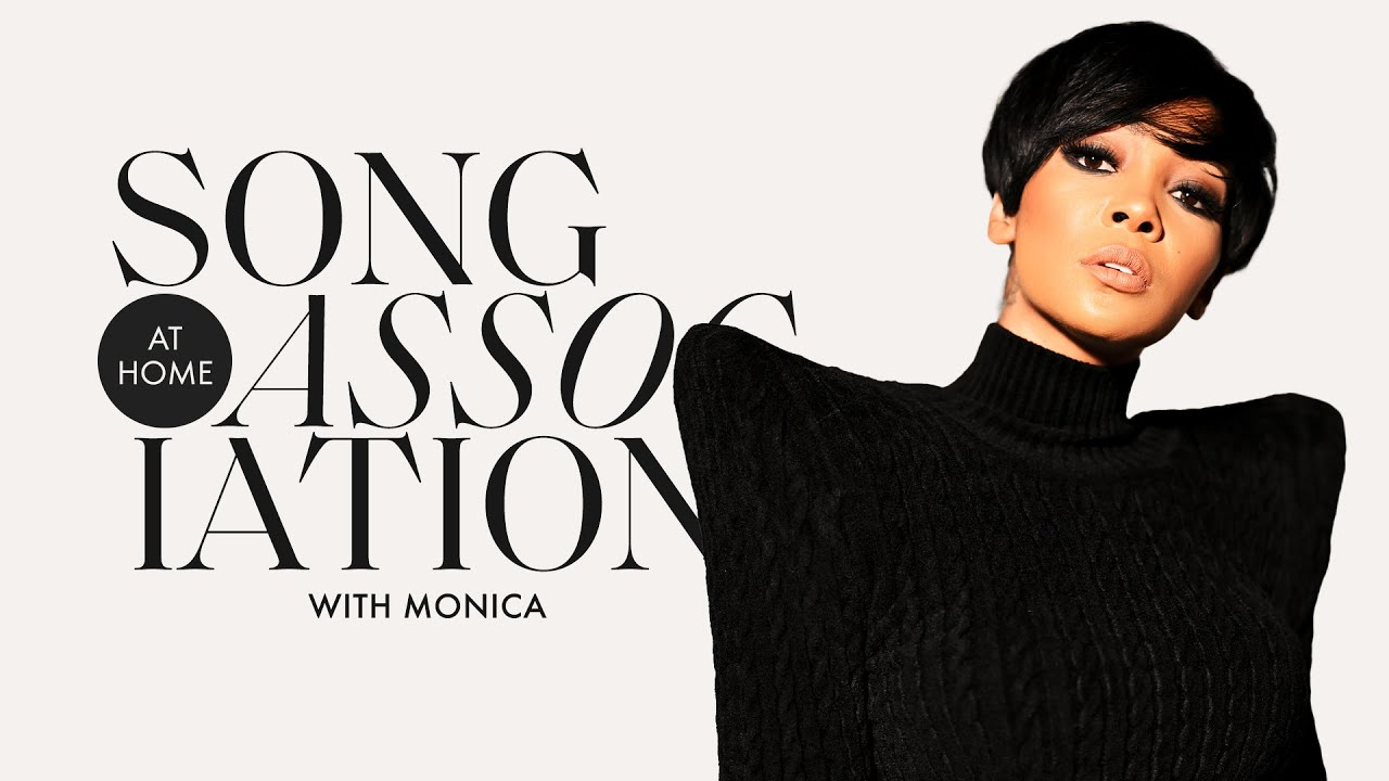 """Monica Sings Stevie Wonder, Mary J. Blige and """"So Gone"""" in a Game of Song Association 