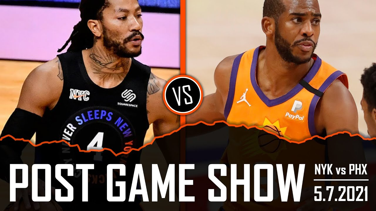 New York Knicks vs Phoenix Suns Post Game Show | 5.7.21