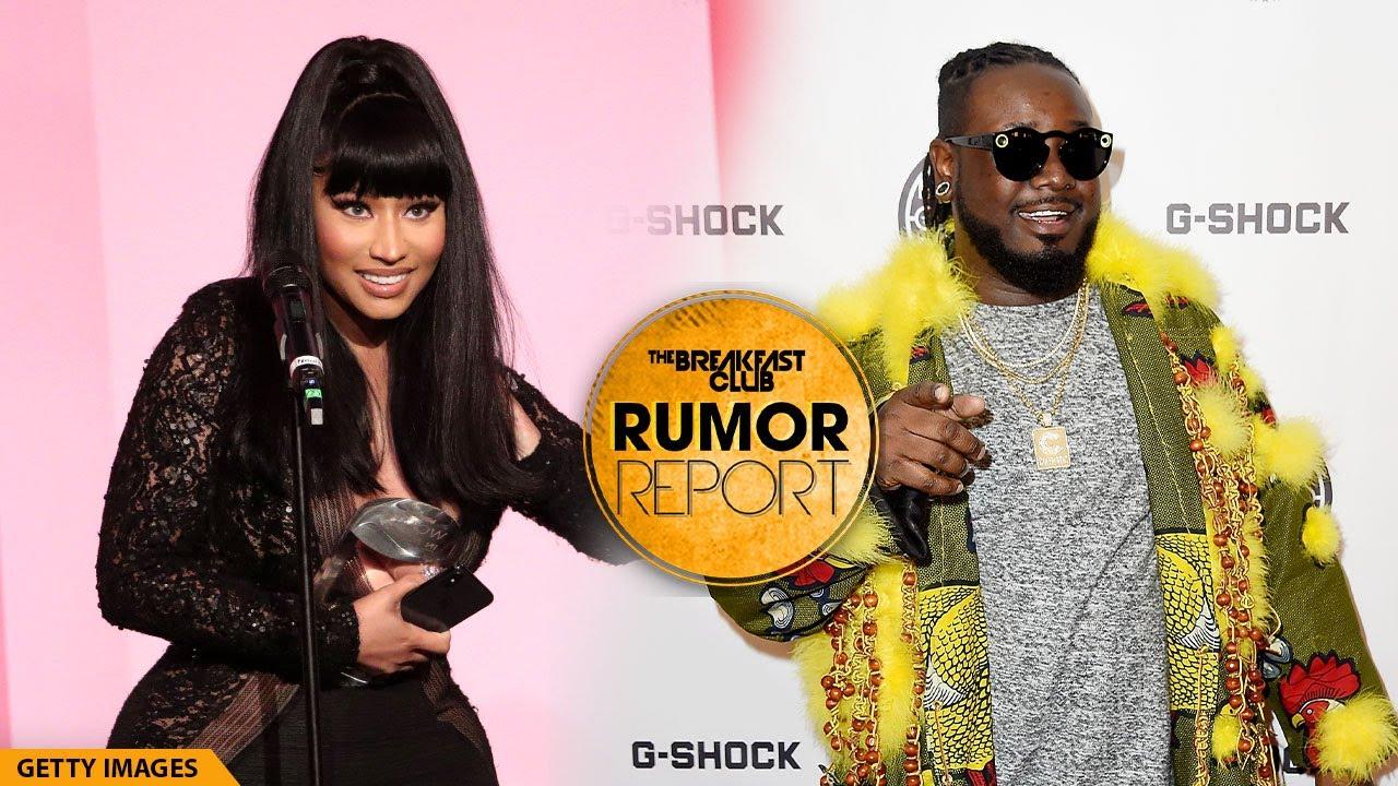 Nicki Minaj Apologizes To T-Pain After Curving Him In 2007