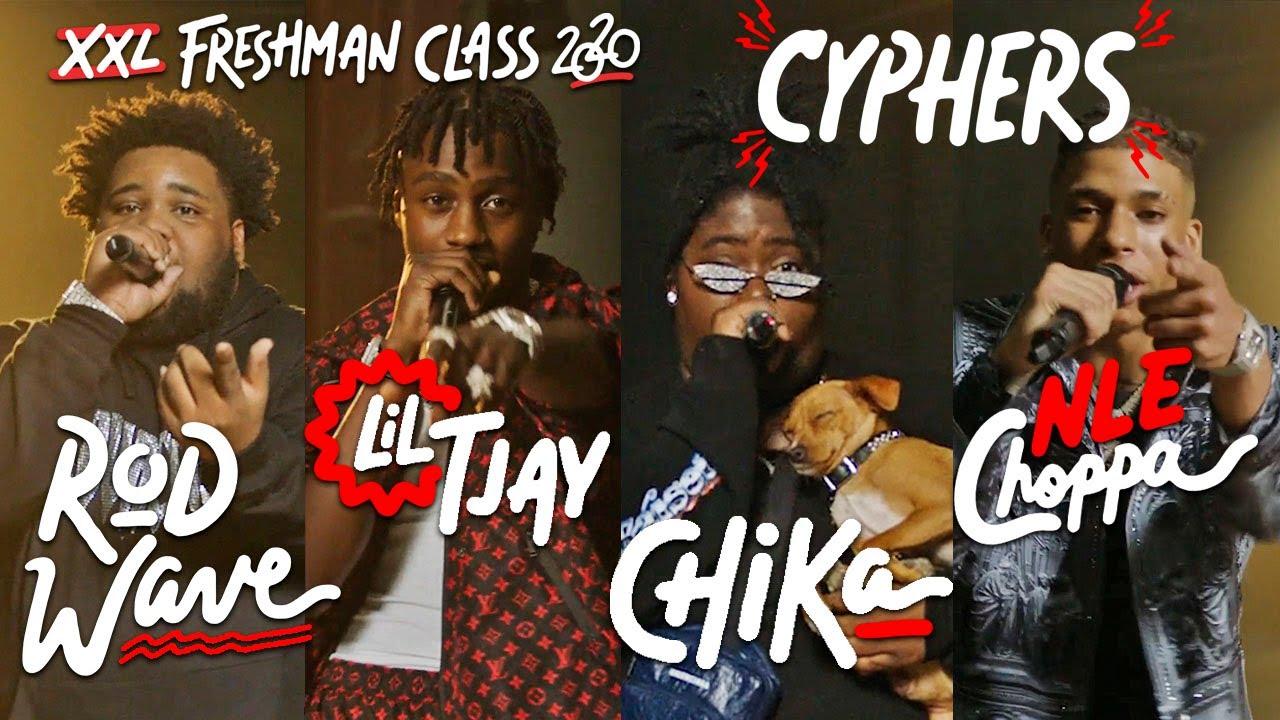 NLE Choppa, Rod Wave, Lil Tjay and Chika's 2020 XXL Freshman Cypher