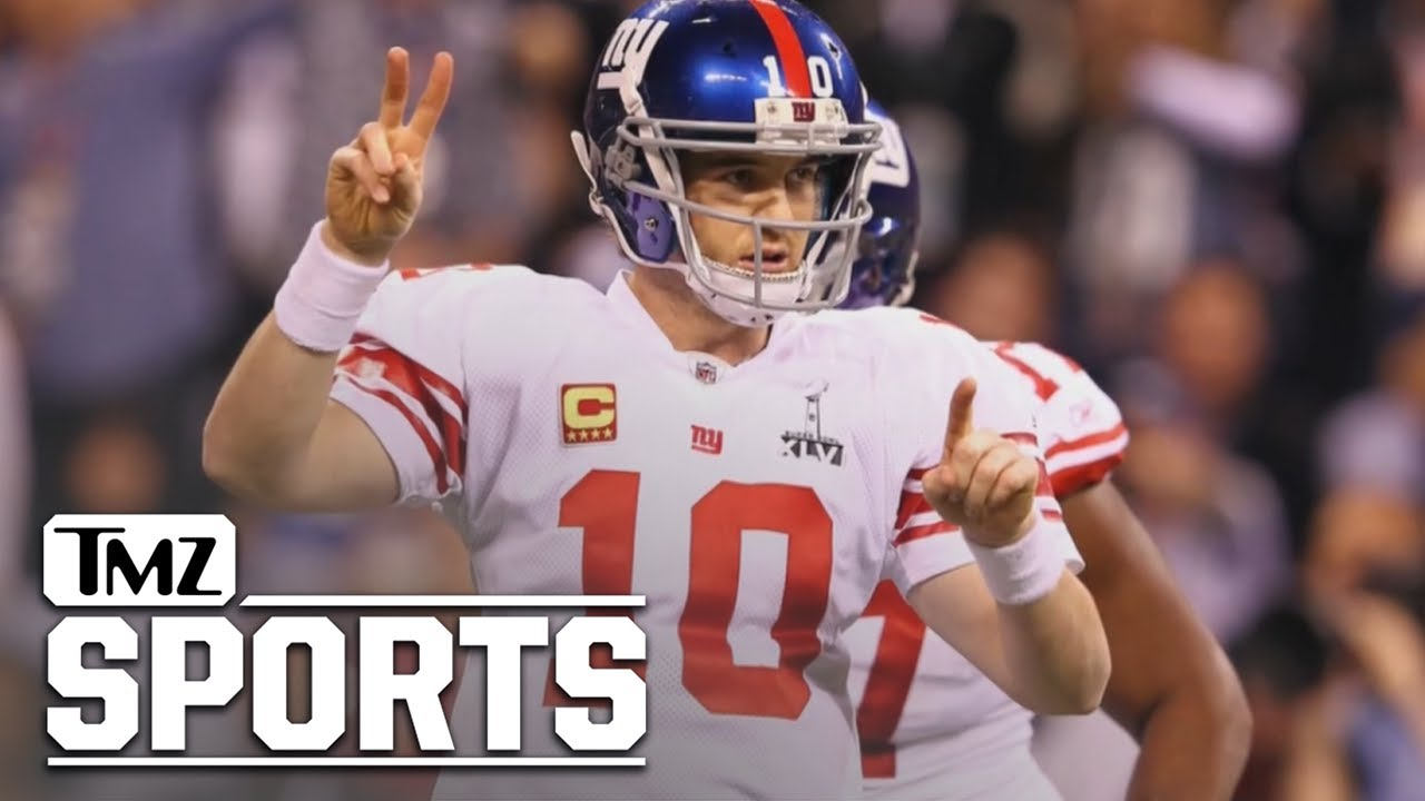 NY Giants Retiring Eli Manning's Number, Inducting QB Into Ring Of Honor   TMZ Sports