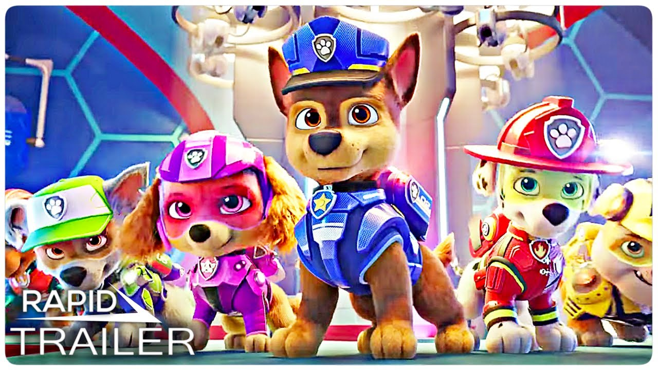 PAW PATROL THE MOVIE Official Trailer (2021)