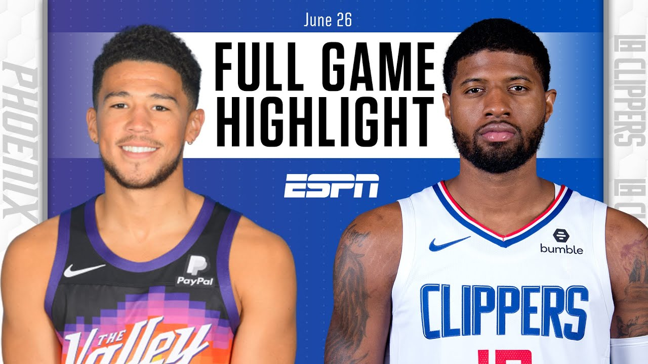 Phoenix Suns at Los Angeles Clippers: Full Game Highlights