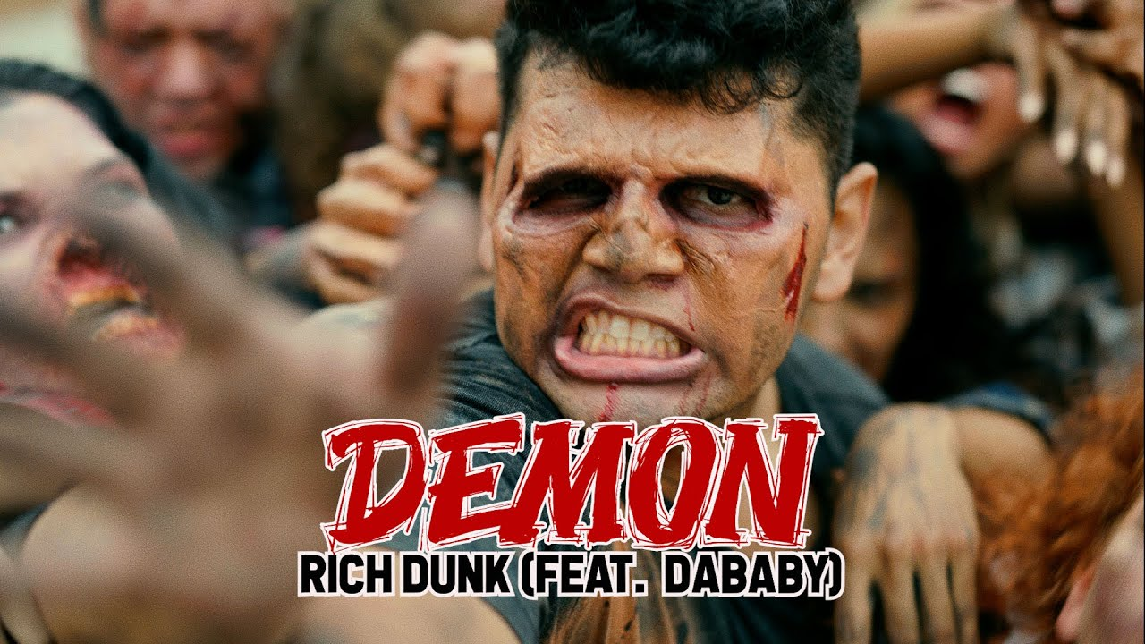 """Rich Dunk (Feat.DaBaby) – """"DEMON"""" (Official Video)"""