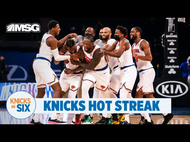 RJ Barrett, Julius Randle, Knicks Stay Hot