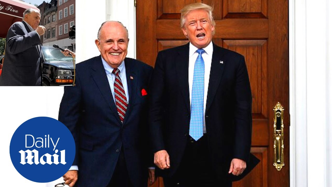 Rudy Giuliani continues to make 2020 election fraud claims after law licence suspension