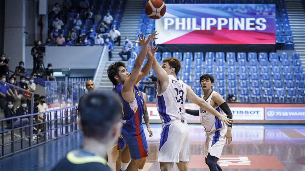 SJ Belangel for the win! | FIBA Asia Cup 2021 Qualifiers: Gilas Pilipinas vs South Korea