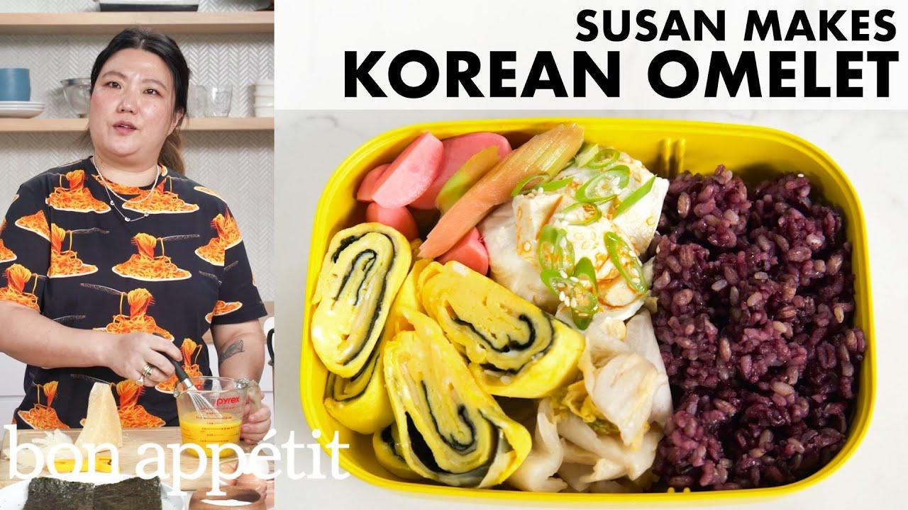 Susan Makes a Korean Omelet (Gyeran Mari) | From the Home Kitchen | Bon Appétit