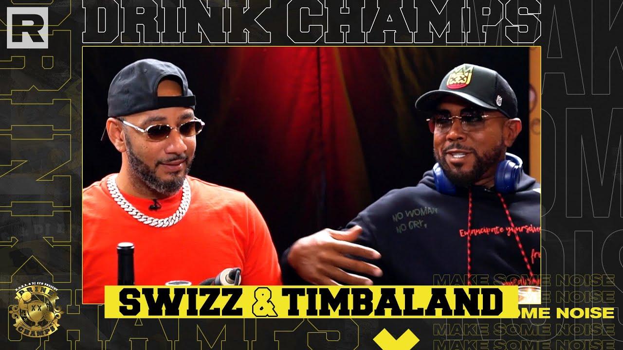 Swizz Beatz & Timbaland Talk The Birth Of VERZUZ, DMX, Pharrell, Aaliyah & More | Drink Champs