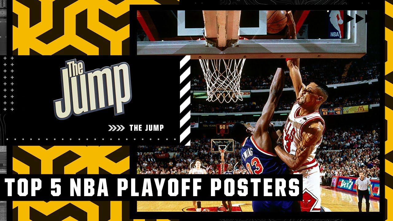 The 5 best playoff posters in NBA history | The Jump