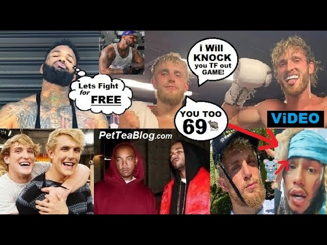 """The Game Calls Out Jake Paul & Logan to Fight says they gonna """"Eat Cement"""" 6ix9ine Trolls Lil Reese"""