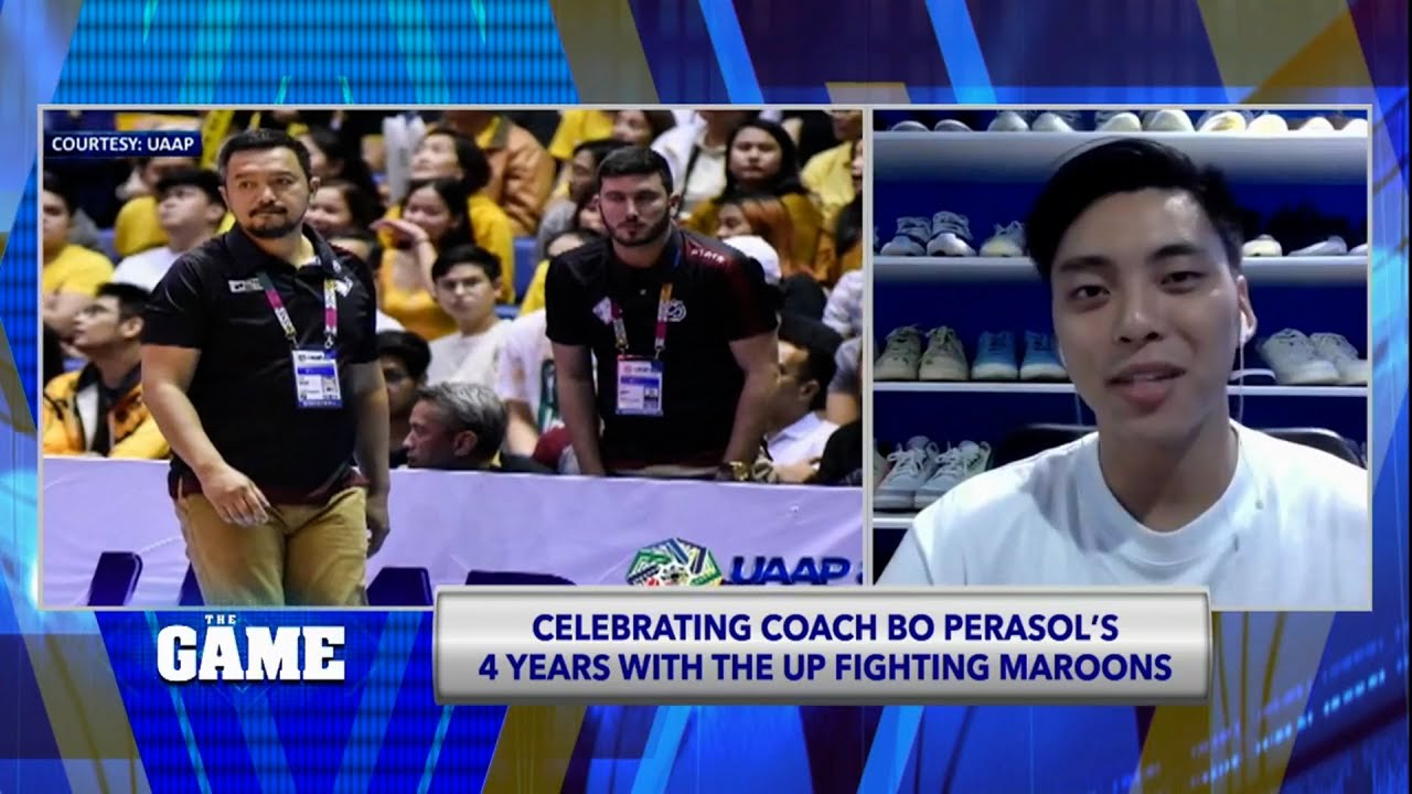 The Game | Celebrating Coach Bo Perasol's 4 Years with the UP Fighting Maroons OS
