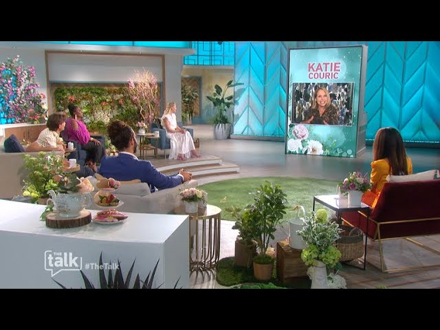 The Talk – Katie Couric Spills On Daughter's Wedding Plans