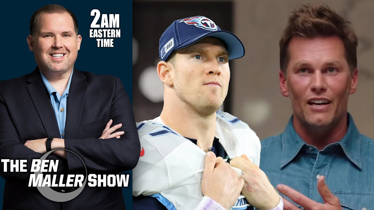 Tom Brady Was Ripping Titans & Ryan Tannehill in Promo For The Shop | BEN MALLER SHOW