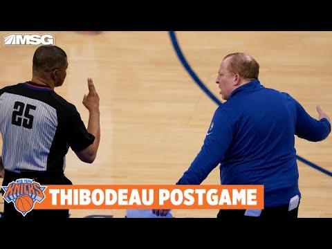 Tom Thibodeau Isn't Worried About Julius Randle Despite Game 1 Struggles | New York Knicks