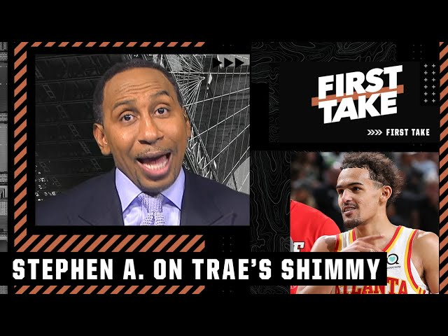 Trae Young 'embarrassed' the Bucks with his shimmy – Stephen A. | First Take