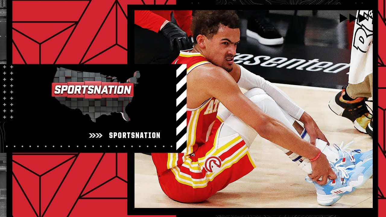 Trae Young injures his ankle in Game 3 as Khris Middleton carries the Bucks | SportsNation