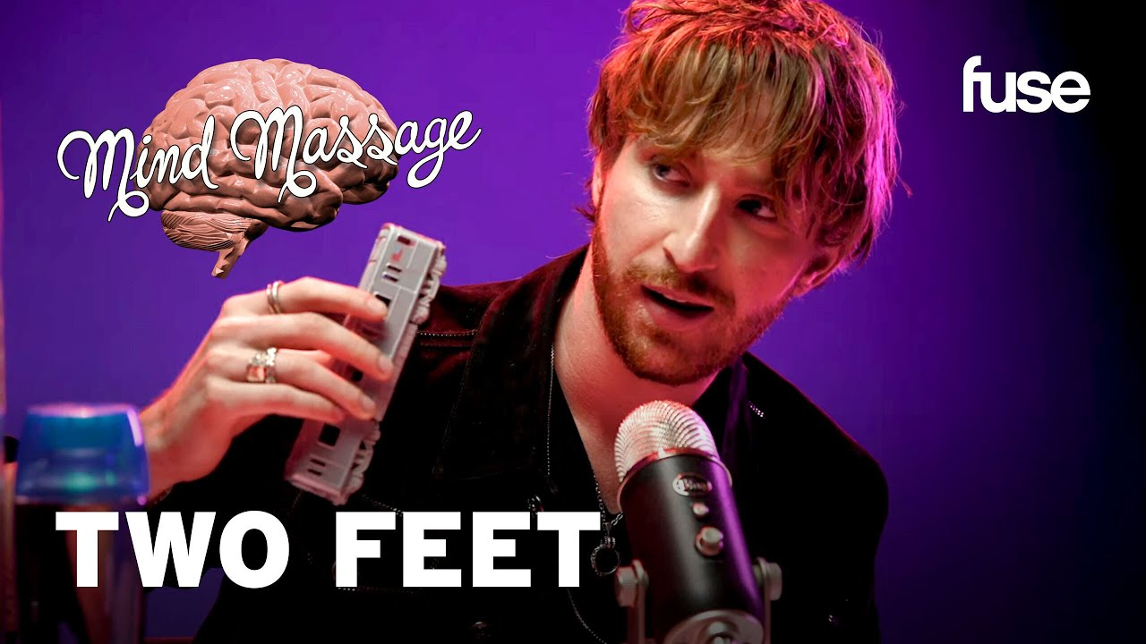 """Two Feet Does ASMR with Foam Blocks, Talks His Alter Ego & """"Think I'm Crazy"""" 