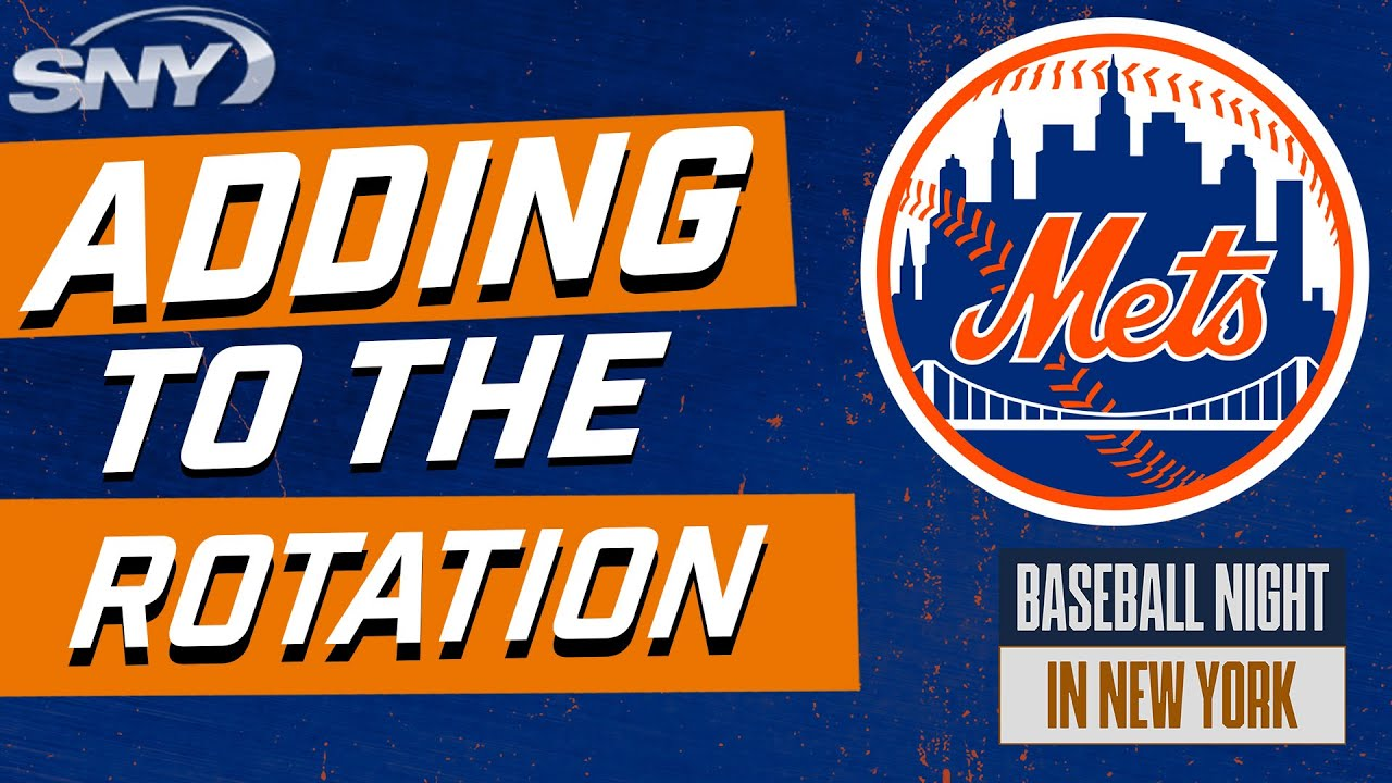 What potential trade options are there for the Mets to add to their rotation? | BNNY | SNY