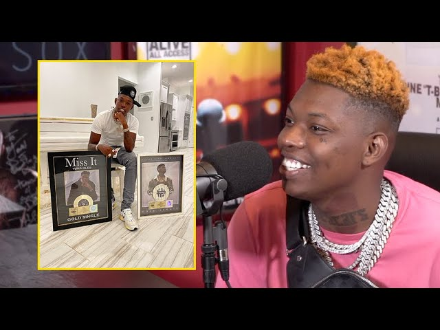 Yung Bleu on getting $35 checks after going gold twice while being signed to a major record label