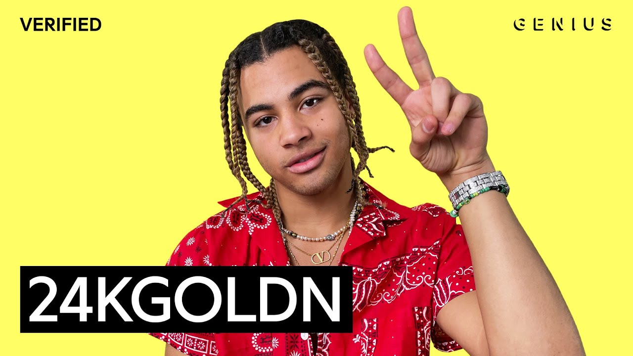 """24kGoldn """"Mood"""" Official Lyrics & Meaning   Verified"""