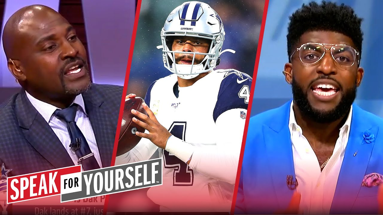 Acho & Wiley react to Dak Prescott being ranked 7th in the QB rankings | NFL | SPEAK FOR YOURSELF