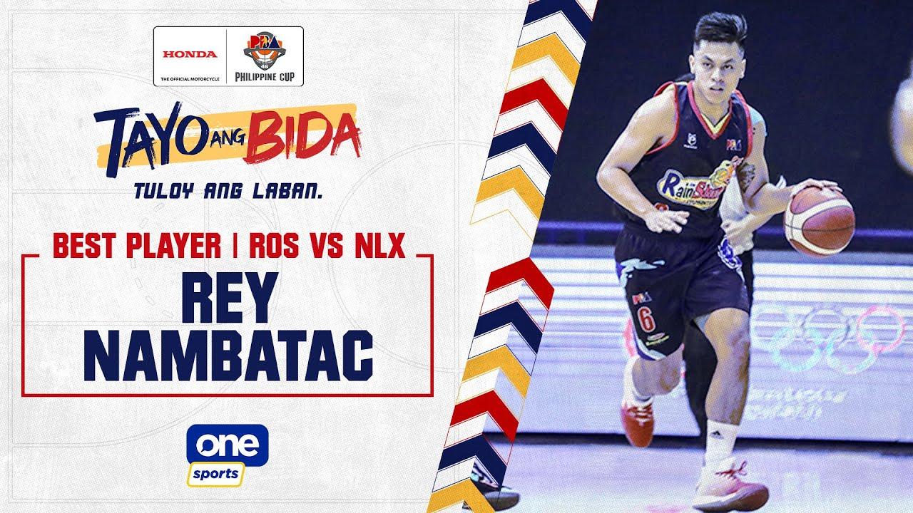 Best Player: Rey Nambatac | 2021 PBA Philippine Cup Highlights