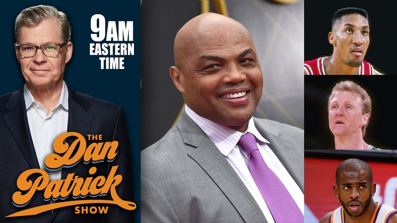 Charles Barkley Talks Scottie Pippen, NIL, Larry Bird and Suns in the NBA Finals | DAN PATRICK SHOW