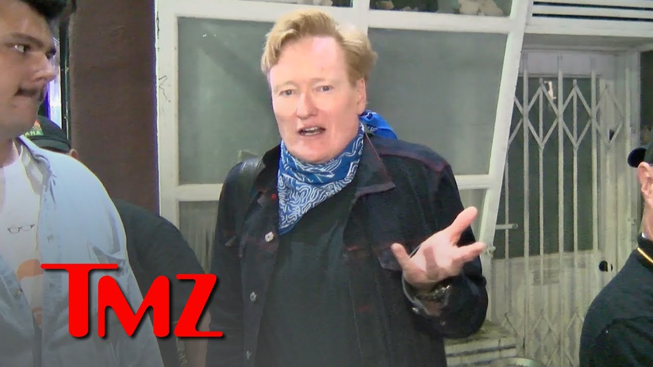 Conan O'Brien Greets Fans, Jokes About Final TBS Show and HBO Max Project   TMZ