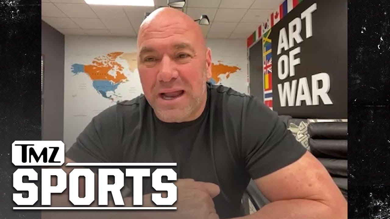 Dana White Calls Trump Omission From UFC 264 Broadcast 'Massive F Up'   TMZ Sports